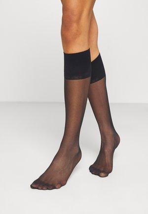 PURE MATT 20 DENIER TRANSPARENT MATT - Knee high socks - marine