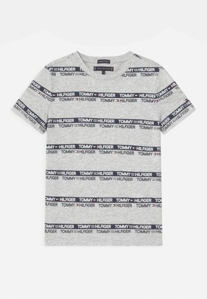 PRINTED TAPE  - Print T-shirt - light grey heather