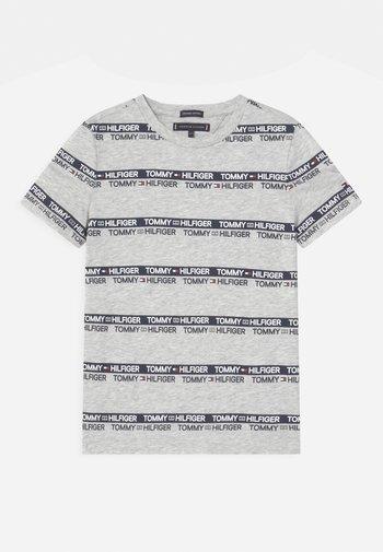 PRINTED TAPE  - Print T-shirt - light grey heather