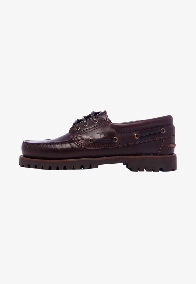 CLASSIC - Boat shoes - brown