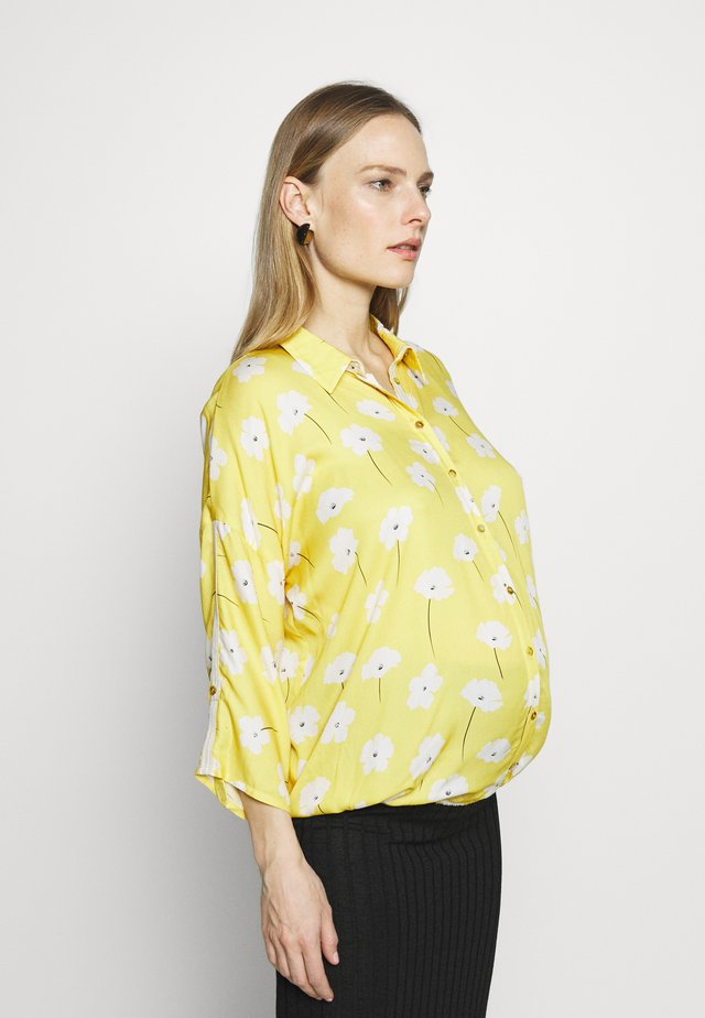 SWEET FLOWERS - Button-down blouse - yellow