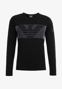 EA7 Emporio Armani - Langærmede T-shirts - black - 3