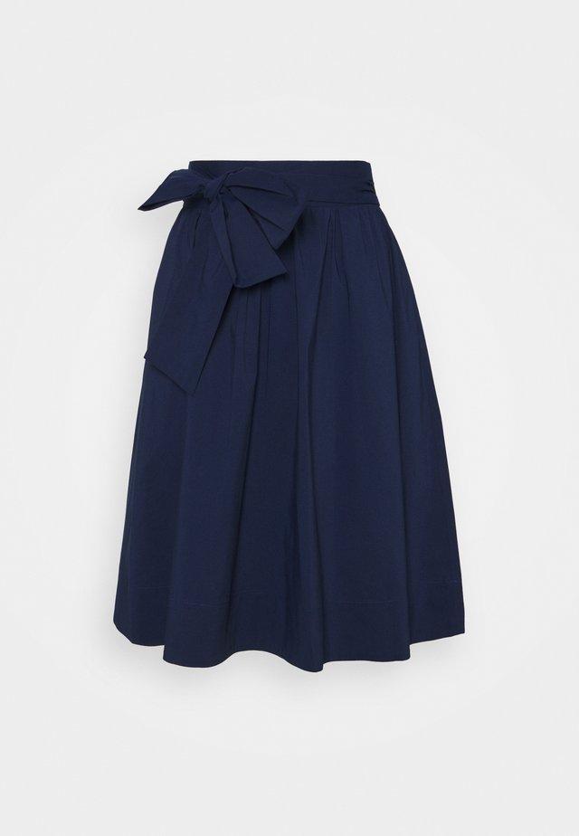 BENITA SKIRT - A-line skirt - navy blue