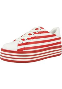 Gerry Weber - Sneakers laag - white red - 1