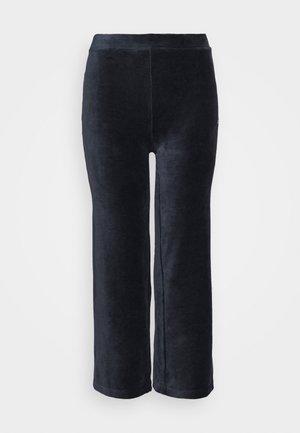 BIAN CROPPED PANT - Spodnie materiałowe - black iris