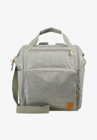 Lässig - GREEN LABEL BACKPACK - Baby changing bag - light grey/beige