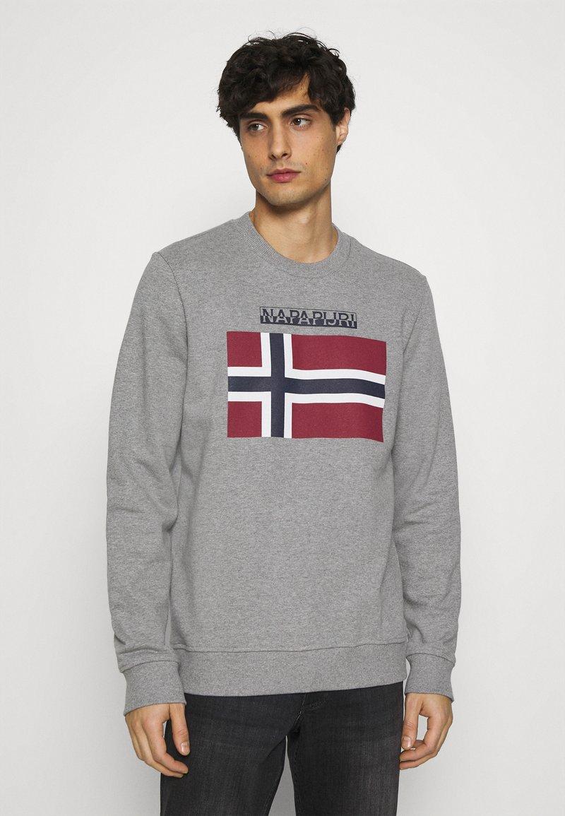 Napapijri - BELLYN - Sweatshirt - med grey melange