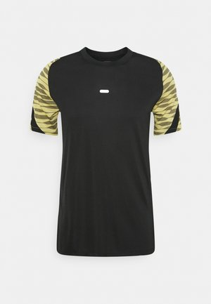 T-shirt imprimé - black/saturn gold/black/white