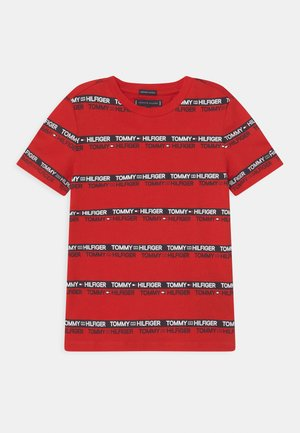 PRINTED TAPE  - Print T-shirt - deep crimson