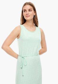 s.Oliver - Maxi dress - mint melange - 4