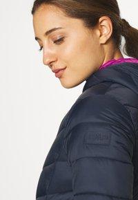CMP - WOMAN JACKET FIX HOOD - Winter jacket - black/blue - 4