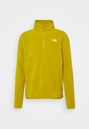 MENS GLACIER 1/4 ZIP - Fleece jumper - matcha green
