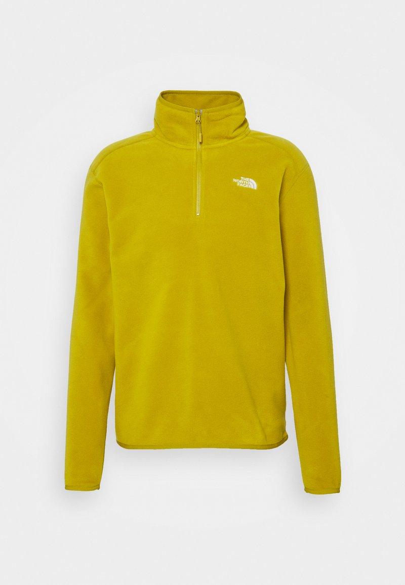 The North Face - MENS GLACIER 1/4 ZIP - Fleece jumper - matcha green