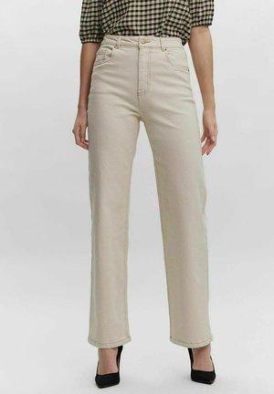 KITHY  - Straight leg jeans - ecru