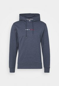 Tommy Jeans - STRAIGHT LOGO HOODIE - Mikina - blue - 4