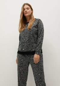 Violeta by Mango - TRENDY - Tracksuit bottoms - grau - 3
