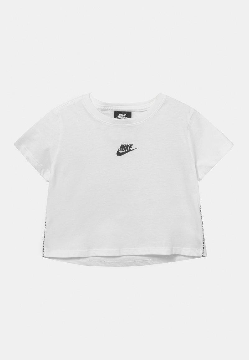 Nike Sportswear - REPEAT CROP - Triko spotiskem - white