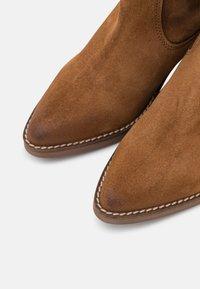 mtng - TEO - Cowboy/Biker boots - brown - 6