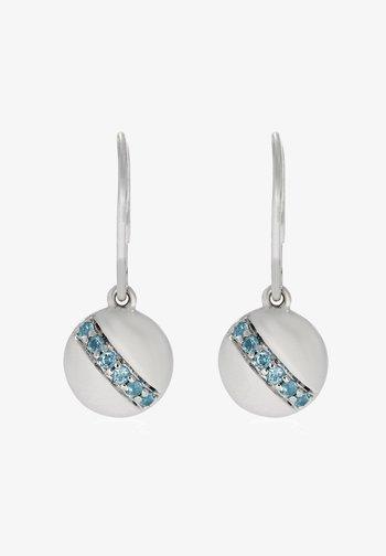 MIT 12 SWISS BLUE  - Earrings - silber