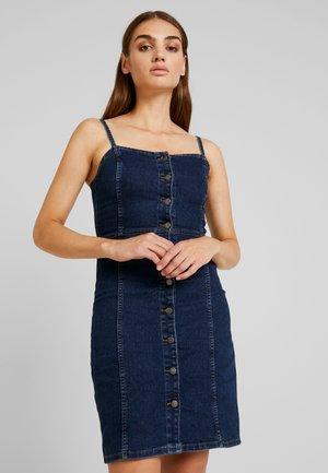 JDYSANNA STRAP DRESS - Farkkumekko - dark blue denim