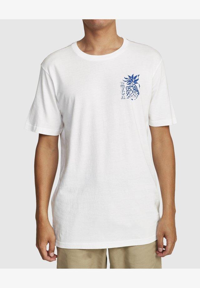 ALOHA SHOP  - T-shirt imprimé - antique white