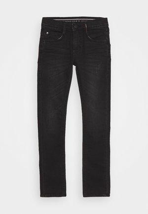 LUIGI - Skinny džíny - dark grey denim