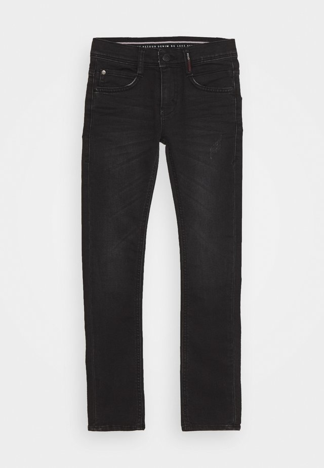 LUIGI - Jeans Skinny Fit - dark grey denim