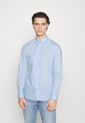 JJFRANK PLAIN - Shirt - cashmere blue