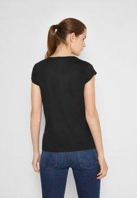 Elisabetta Franchi - Basic T-shirt - nero - 2