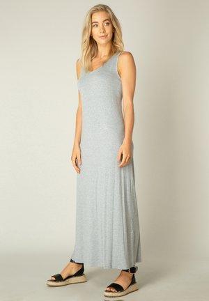 UMAMA - Maxi dress - grey melange
