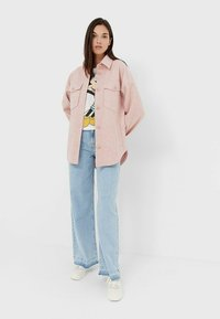 Stradivarius - Summer jacket - pink - 1