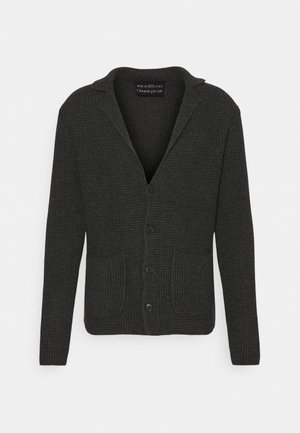 GIACCA COSTA INGLESE - Cardigan - anthracite