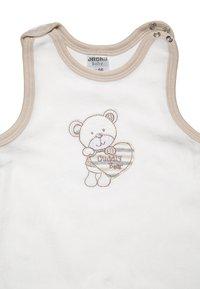 Jacky Baby - BEAR SET - Dupačky na spaní - offwhite/beige - 3