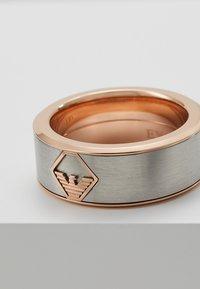 Emporio Armani - Ring - silver-coloured - 5