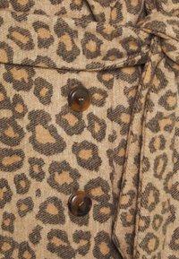 TWINSET - Classic coat - noce/tabacco - 2