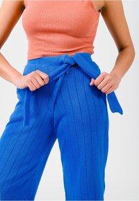 Solai - Trousers - cobalt blue - 4