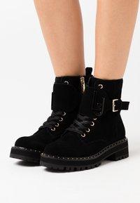 Liu Jo Jeans - Platåstøvletter - black - 0
