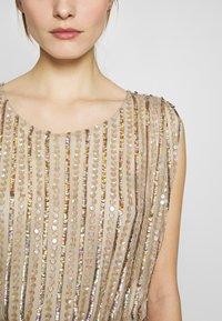 MANÉ - LAELIA DRESS - Suknia balowa - champagne/gold - 7