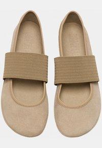 Camper - RIGHT NINA - Ankle strap ballet pumps - beige - 1