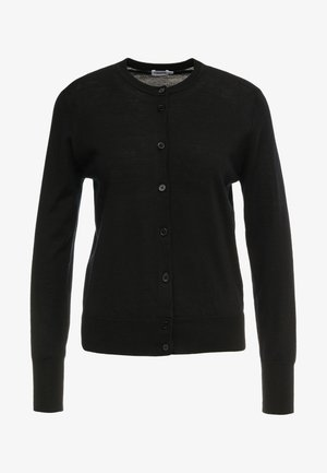 SHORT CARDIGAN - Gilet - black
