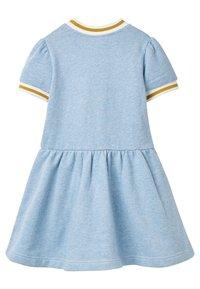 Boden - MIT TASCHEN-APPLIKATION - Jersey dress - eisblau - 1