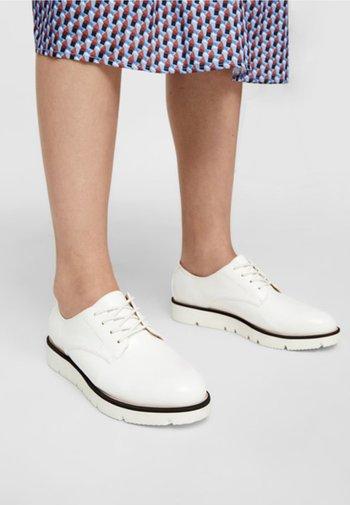 DERBY  - Sneakersy niskie - white
