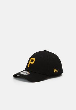 LEAGUE ESSENTIAL 39THIRTY UNISEX - Cap - black/yellow