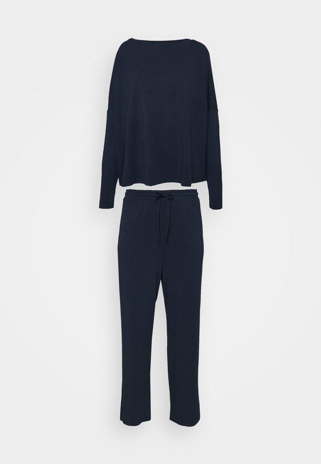 SET - Pyžamo - dark blue