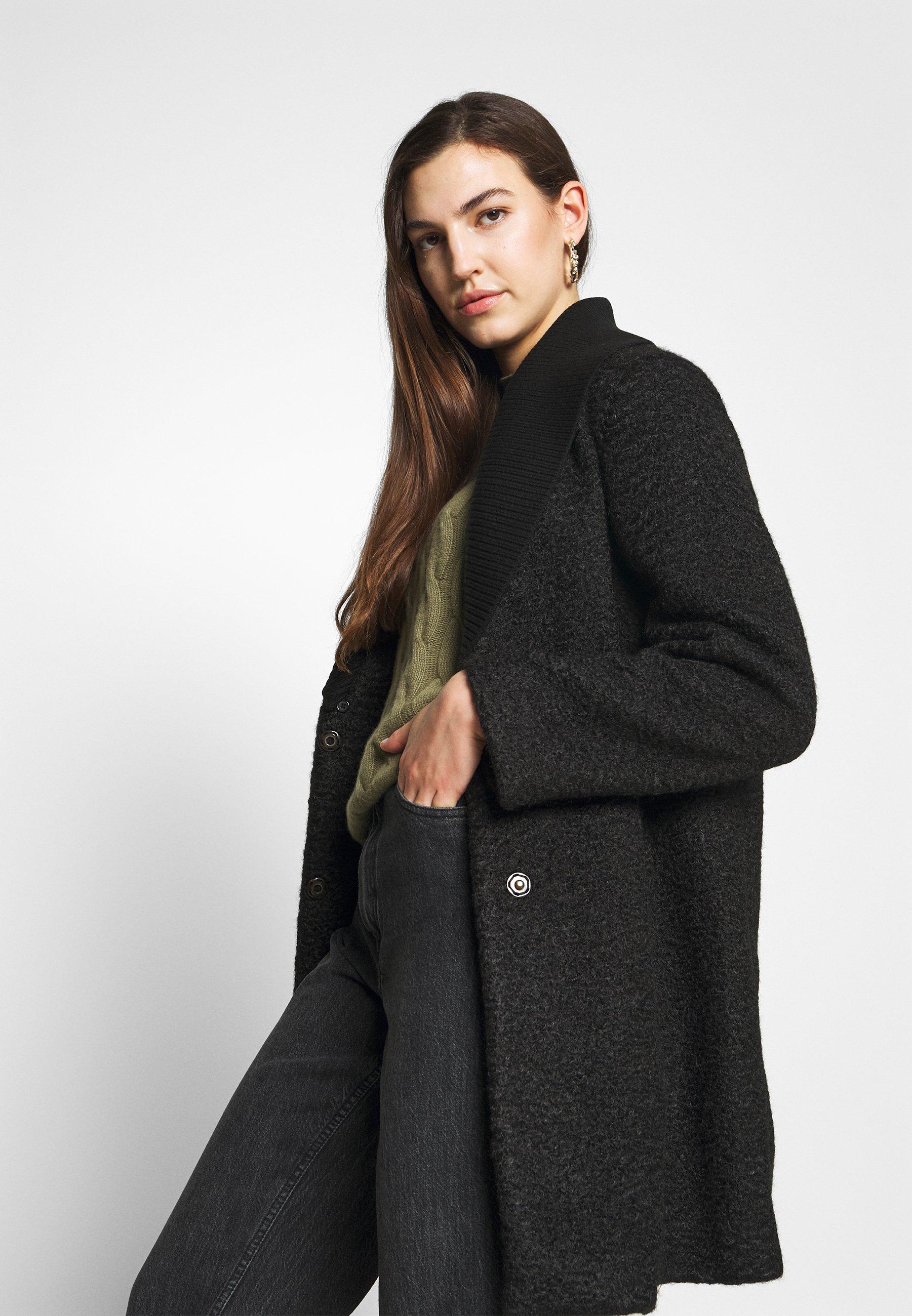 COAT Mantel black