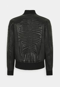 Diesel - L-FUTURE GIACCA - Leather jacket - black - 1