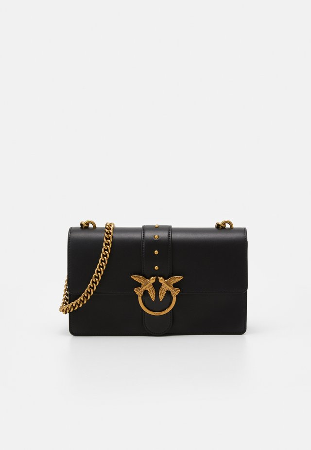 LOVE CLASSIC ICON SIMPLY SETA - Across body bag - black