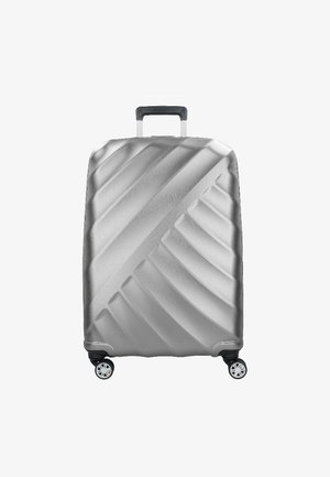 SHOOTING STAR L 4-ROLLEN - Wheeled suitcase - silver