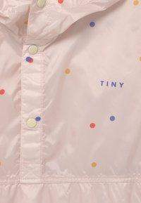 TINYCOTTONS - ICE CREAM DOTS - Waterproof jacket - pink - 2