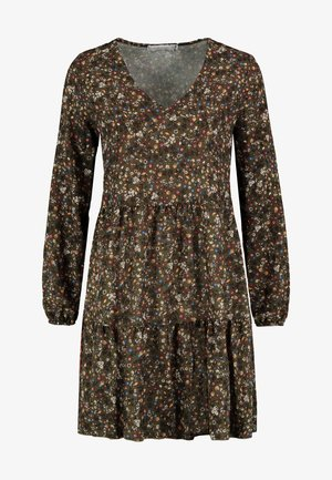FREIZEITKLEID MIT BLUMENPRINT - Day dress - green